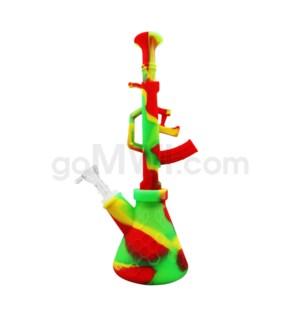 """Silicone Waterpipe 11"""" - AK Design"""