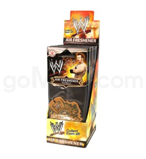 DISC WWE Air freshner  - Display  24 CT/ BX