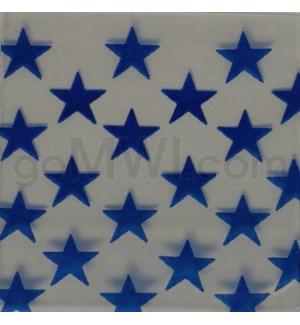 """Zip Bags 1""""x1"""" (1010) Stars 10/100PK 1000CT/BG"""