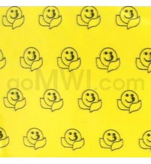 """Zip Bags 1""""x3/4"""" (1034) Happy Face 10/100PK 1000CT/BG"""