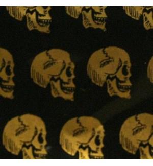 """Zip Bags 1""""x3/4"""" (1034) Skull 10/100PK 1000CT/BG"""