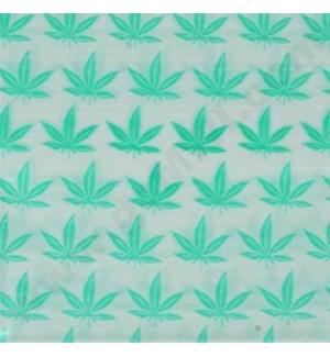 "Zip Bags 2""x2"" (2020) Green Leaf 10/100PK 1000CT/BG"