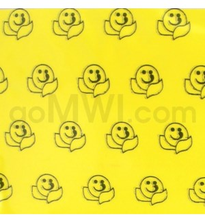 "Zip Bags 3/4""x3/4"" (3434) Happy Face 10/100PK 1000CT/BG"