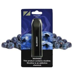 Z Pen Disposable Nic Salt E-Cig 5% Nicotine- Blueberry 5CT