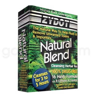 DISC Zydot Natural Blend Cleansing Herbal Tea 1oz