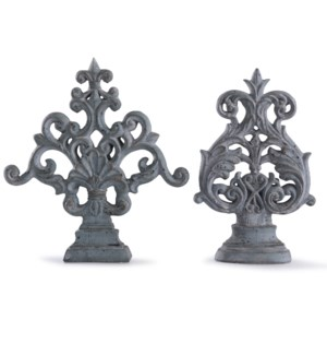 Cleobury Blue | Traditional Ornamental Accessory | Set of Two Accessory