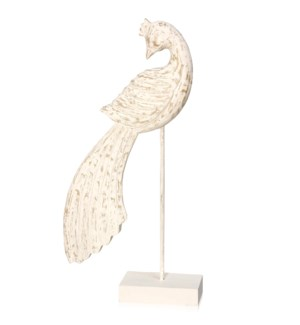 PEACOCK WHITE MARBLE
