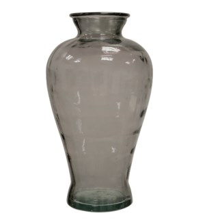 Clear Graystone | Recyled Spanish Glass Vase Accessory