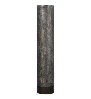Berkley Trees | Bryan Keith Branded | Transitional Floor Lamp | 60W X 2 | Lazer Cut Metal Uplight
