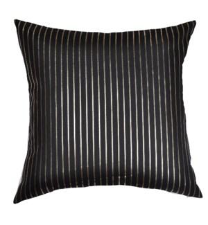 Thick Linen Cushion w/Metallic