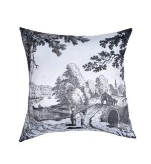 Matte Satin Cushion w/Printing