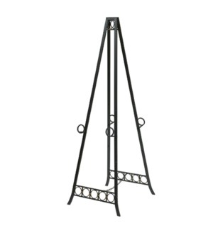 Metal adjustable floor double easel.