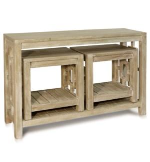3PCS CONSOLE TABLE