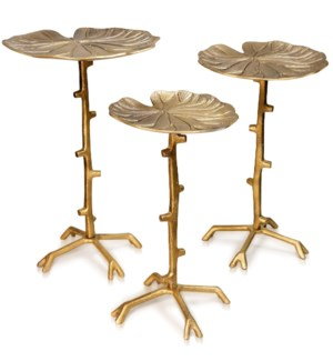 SET OF THREE LILY PAD TABLES