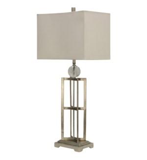 Silver Leaf | Jane Seymour Branded Table Lamp