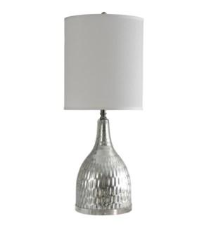 Silver Mercury Glass | Jane Seymour Branded Table Lamp