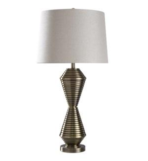 Warwick | 35in Jane Seymour Branded Metal Table Lamp | 150 Watts | 3-Way
