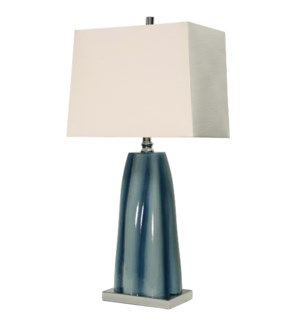 William Mangum Collection Diamond Shoals Table Lamp with Hardback Shade