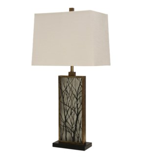 William Mangum Collection Waynesville Table Lamp with Hardback Shade