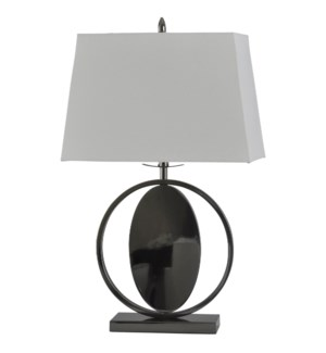 Black Nickel | Ecliptic Pendant Design Base Transitional Table Lamp | Metal Material | 100 Watts | 3