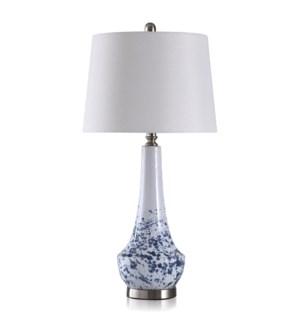 TL314534--CERAMIC/METAL TABLE LAMP