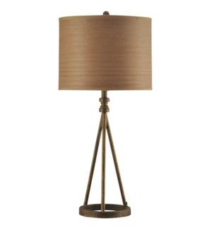 Millbrook | Transitional Iron Base Table Lamp