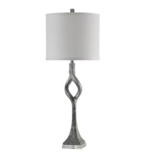 Albergo | Transitional Clear Acrylic Base Table Lamp