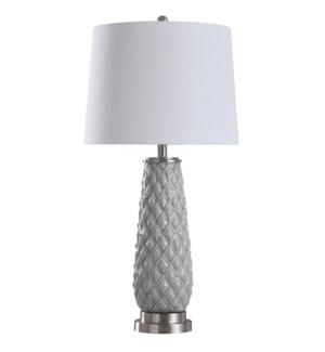 Hanson Sky | 32in Ceramic Body Table Lamp | 150 Watts | 3-Way