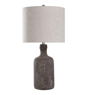 Olney Grey | 30in Concrete Body Table Lamp | 150 Watts | 3-Way