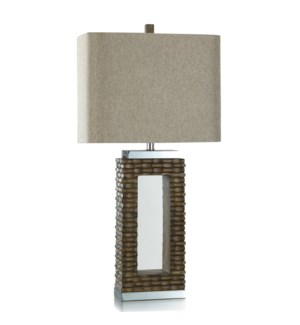 POLY/STEEL TABLE LAMP