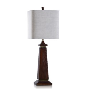 POLY/METAL TABLE LAMP