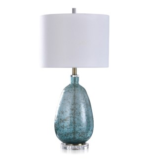 CRYSTAL/GLASS TABLE LAMP