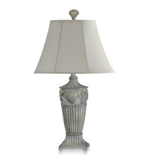 Table Lamp  with Matching Final and Round Softback Shade