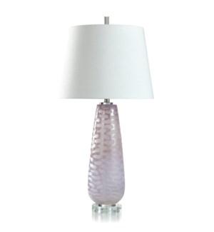 GLASS/ ACRYLIC TABLE LAMP