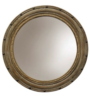 Rope and Rivots   Traditional   Wall Mirror   Wood