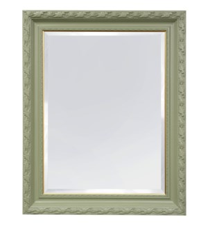 PAINTED FRAMED MIRROR | 49ht X 39w | Made in USA