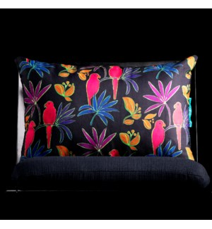 FUSCHIA LUMBAR PILLOW | 3in X 20in | Fuchsia Pillow. Vibrant colors and bold pattern choices from Ma