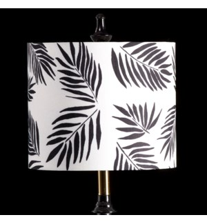 PALM MIXOLOGY SHADE | SMALL | 10in X 12in | Available in three sizes  this lighting collection has a