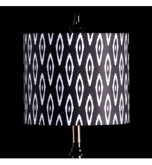 IKAT MIXOLOGY SHADE | SMALL | 10in X 12in | Available in three sizes  this lighting collection has a