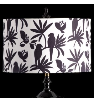 BIRD MIXOLOGY SHADE | LARGE | 11in X 19in | Available in three sizes  this lighting collection has a