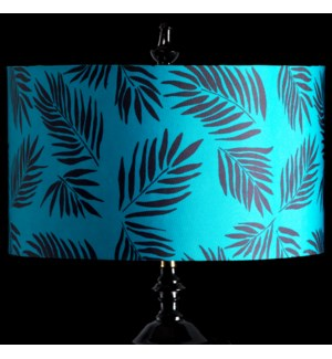TEAL PALM MIXOLOGY SHADE | LARGE | 11in X 19in | Available in three sizes  this lighting collection