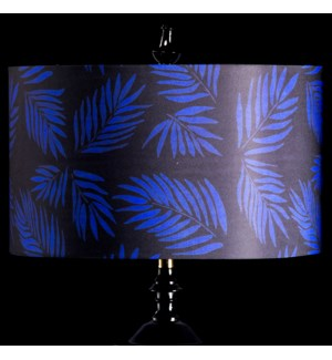 BLUE PALM MIXOLOGY SHADE | LARGE | 11in X 19in | Available in three sizes  this lighting collection