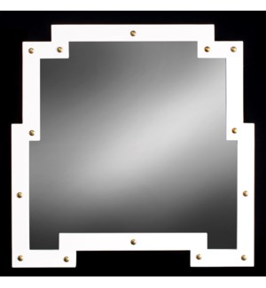 AMSTERDAM MIRROR | 30in X 30in | Create an illusion of space. The Amsterdam is inspired by the outli
