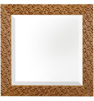 PROMOTIONAL FRAMED MIRROR | 16in X 16in | Professionally Hand Crafted in the USA