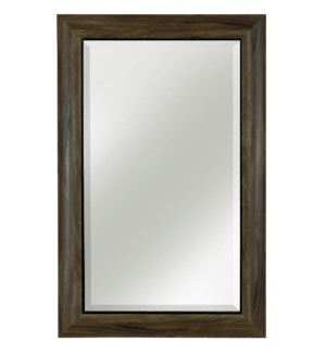 PROMOTIONAL FRAMED MIRROR   35in X 23in   Professionally Hand Crafted in the USA