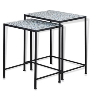 KAI TABLE SET | Large 18in w. X 22in ht. X 14in d. | Small 16in w. X 20in ht. X 14in d. | Set of Two