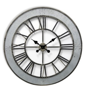 Metal Wall Clock | 31in X31in X 2in