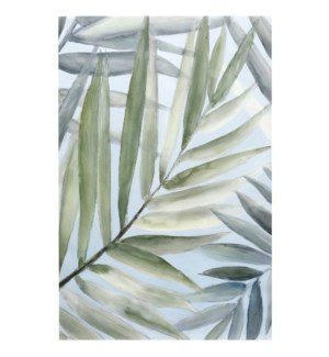 Tropical Getaway Hand Painted Canvas | 36in X 24in X 1in | Stretched Canvas
