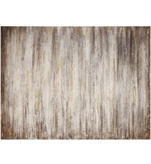 TEXTURED TIDE | HAND PAINTED | 36in X 48in | Deep And Rich Textured Abstract Canvas
