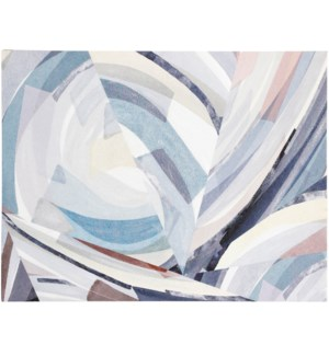 CIRCUMVOLUTED | 30in w. X 40in ht. | Abstract Canvas Print